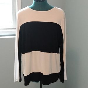 Zenergy by Chicos Color Block Pullover